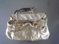 Johanna Ho Gold Handbag (Hong Kong Designer stocked by Lane Crawford)