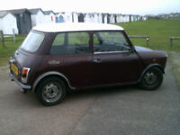 AUSTIN MINI CITY 1987 AUTOMATIC VERY RELIABLE MOTED UNTIL MAY 2018