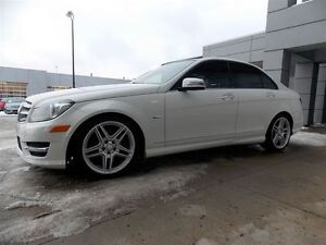 2012 Mercedes-Benz C-Class C350 4Matic, Camera-recul, Toit pano,