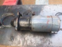 Ferguson TEF20 TEF 20 Luca starter motor and solenoid bracket - £80