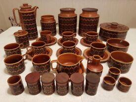 Hornsea pottery kitchen dinning set