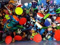 JOB LOT Loads of skylanders Trap Team XBOX 360 inc: large special charaters
