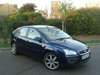 2006 FORD FOCUS 2.0 GHIA NEW SHAPE LEATHER SAT NAV