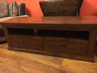 TV Stand and Coffee Table, both in good condition