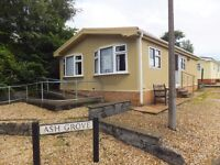 Residential Park Home Chalet/Bungalow On Private Quiet Semi Retired Park for the Over 50's