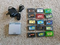 Nintendo Gameboy Advance Sp Bundle