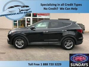 2018 Hyundai Santa Fe Sport AWD LEATHER LARGE PANO ROOF... LOW K