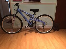 "Halfords endeavour 26"" ladies mountain bike"