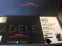 2X Adele pitch standing tickets