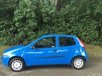 Fiat Punto 1.2 active 03 reg mot April 2018 timing belt replaced present owner 12 years 48+ mpg