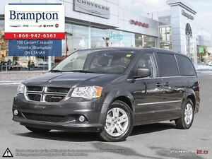 2016 Dodge Grand Caravan Crew Plus Leather|Navigation|Back Up Ca