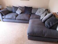 DFS Beresford Charcoal Corner Sofa