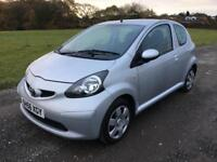2006 56 PLATE TOYOTA AYGO+ 1.0 VVT-I - £20 PER YEAR ROAD TAX
