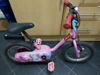 Girl bicycles