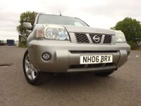 06 NISSAN X-TRAIL COLUMBIA DCI 2.2 DIESEL 4X4,MOT JULY 019,PART SERVICE HISTORY,LOVELY EXAMPLE