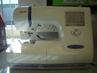 Janome Embroidery Machine Memory Craft 300E with Instructions/ Embroidery Hoops / Scanner