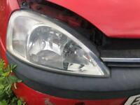 VAUXHALL CORSA C DRIVERS HEADLIGHT BREAKING SPARES PARTS CHELMSFORD ESSEX LONDON RETTENDON