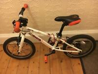 "Child's 16"" wheel Carrera Bike"