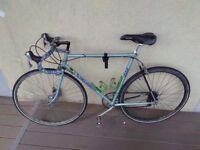 Vintage peugeot professionnel 610 road bike, shimano 105/shimano breaks/STI shifters