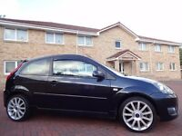 12 MONTH WARRANTY! (2007) FORD FIESTA ST 2.0 3dr BLACK- Lady Owned- IMMACULATE- FORD Service History
