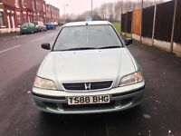 HONDA CIVIC 1.4 I Sport 5 DOOR FINISHED IN A METALLIC GREEN