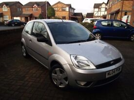 Ford Fiesta 2004. CAM BELT DONE, NEW FRONT DISCS AND DISC PADS, FULL SERVICE, STILL IN MOT