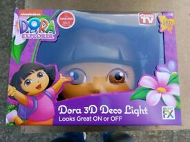Dora the explorer Art Deco wall light **NEW**