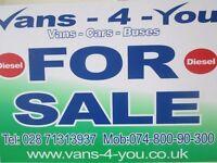 2009 ford fiesta diesel new model uk van £3250 no vat belfast derry