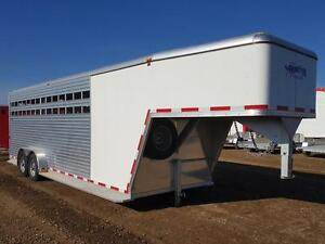2016 Frontier 24' GN Stock Trailer