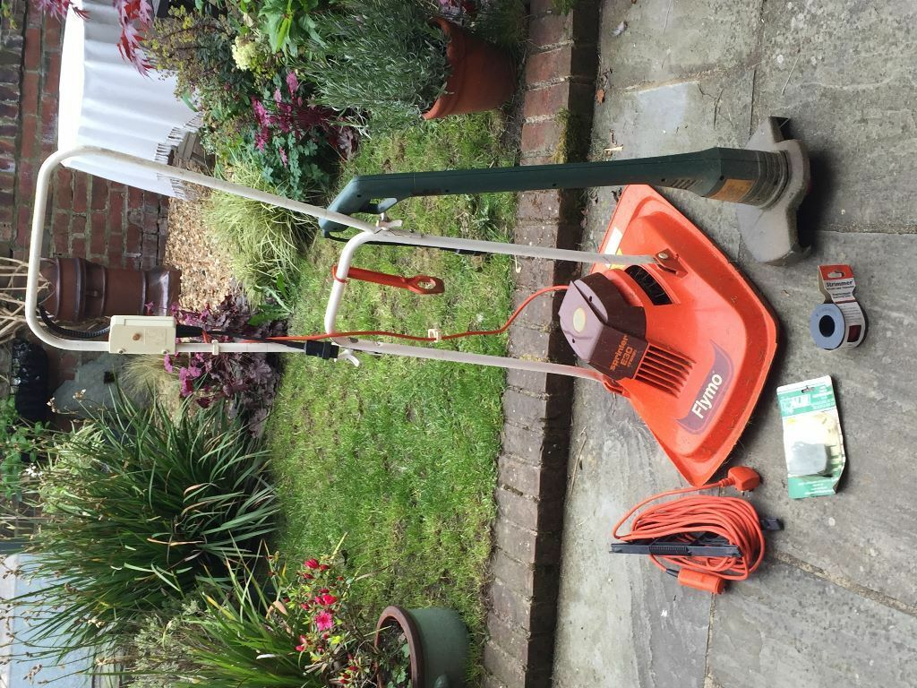 Flymo Sprinter E30 Twin Mower Cable And Spare Cutters