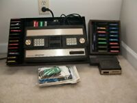 Do you have any old games consoles ? - MATTEL INTELLIVISION console & games wanted