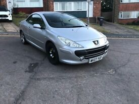 PEUGEOT 307 CC SILVER 2.0 HDI SILVER SPORT FULL LEATHER