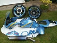 Suzuki SV650S Fairings, tank, forks and most other non engine parts