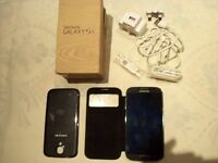 SAMSUNG GALAXY S4 MOBILE PHONE (UNLOCKED ) BLACK MIST ( 16GB )