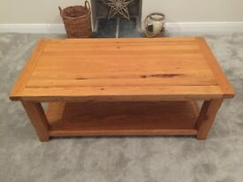 Barker and stone house oak coffee table
