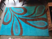 Hand carved thick soft Rug