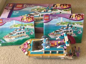 Lego friends dolphin cruiser (boxed)