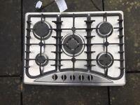 5 burner gas hob. Removed after kitchen renovation.