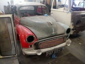 1968 Morris 1000 Easy project