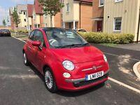 2011 FIAT 500 1.2 LOUNGE ONLY 31K MILES! 1 YEAR MOT NO ADVISORY! SUNROOF! START/STOP