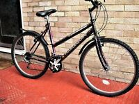 Ladies Raleigh Bicycle in very good condition . Recent Cycle shop service.