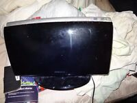 FAULTY SAMSUNG HOME CINEMA DVD SYSTEM HT-X250 MAIN UNITS ONLY, POWER ON FOR PARTS OR REPAIR