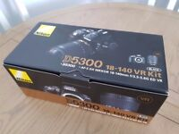 New Nikon D5300 with 18-140mm VR Kit