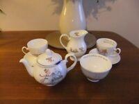 Polly Dunbar Whittard Tea Set (bone china) 'Polly Put the Kettle On'