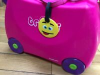 2 x girls Trunki suitcases