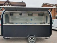 Catering Trailer Burger Van Hot Dog Ice Cream Pizza Trailer Food Cart 3400x1650x2300