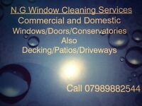 N.G Window Cleaning Services Christmas special get your gutters /facias done have the windows free
