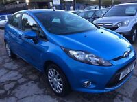 Ford Fiesta 1.25 Edge 5dr£3,845 p/x welcome 1 YEAR FREE WARRANTY. NEW MOT