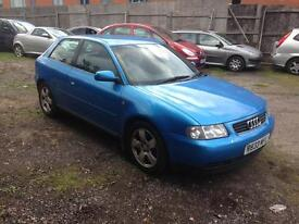 AUDI A3 1.8TURBO 1998 EXCELLENT RUNNER £350