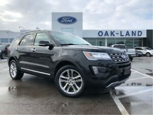 2016 Ford Explorer Limited,Ext Warranty Inc,Fin From 1.9%!!